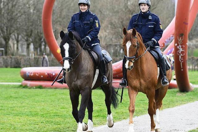 Präsenz mit Pferdestärken: Polizei setzt auf Reiterstaffel