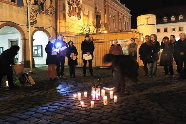 Waldkirch gedenkt der Opfer des Holocaust in Litauen