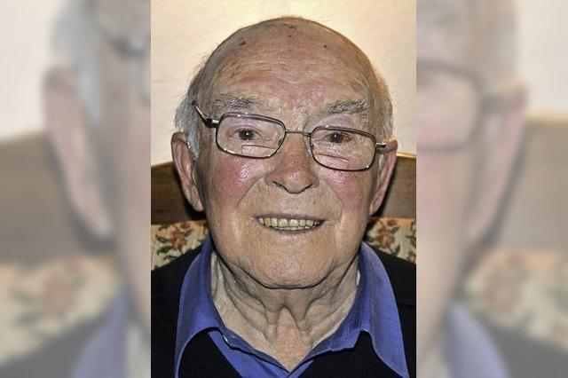 Erwin Bühler 90 Jahre alt