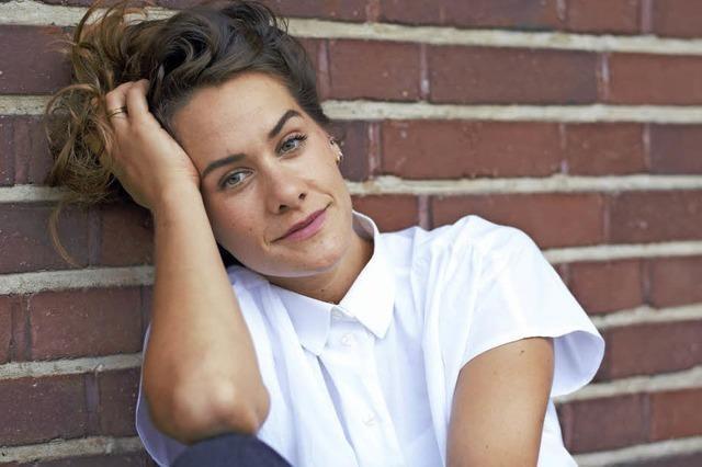 Sängerin und Songwriterin Magdalena Weniger hat ihre erste CD produziert