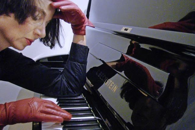 Susanne Fritz mit einem musikalisch-literarioschen Programm im SWR-Studio Freiburg