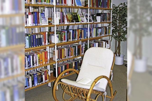 5600 neue Medien in der Bücherei