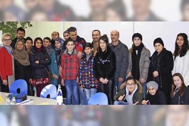 Realschüler übernehmen Patenschaften für die Flüchtlingskinder