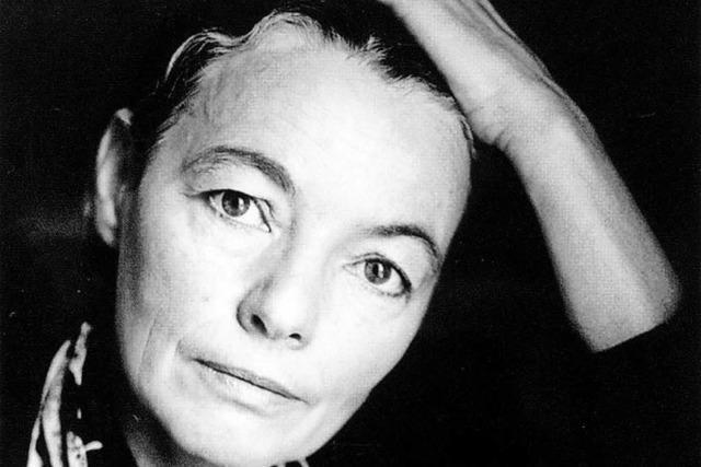 Finissage Strumbel und ein Porträt von Christine Lavant