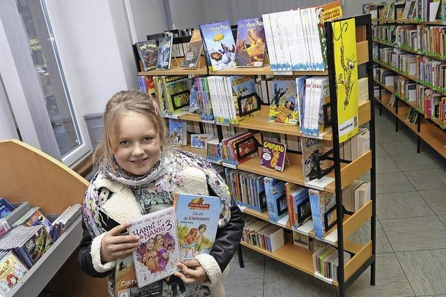 Vor allem kommen junge Bücherfans