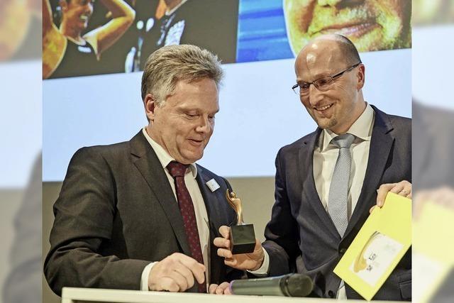 Bernd Pinkes Trainer des Jahres