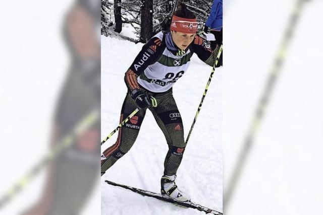 Christin Maier beste deutsche Starterin