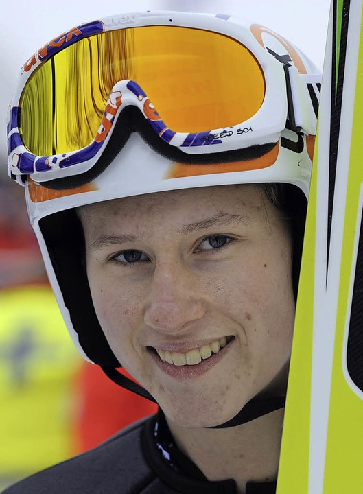 Zuversichtlich: Ramona Straub vom SC L...rung zurück ins Weltcupteam schaffen.   | Foto: patrick seeger