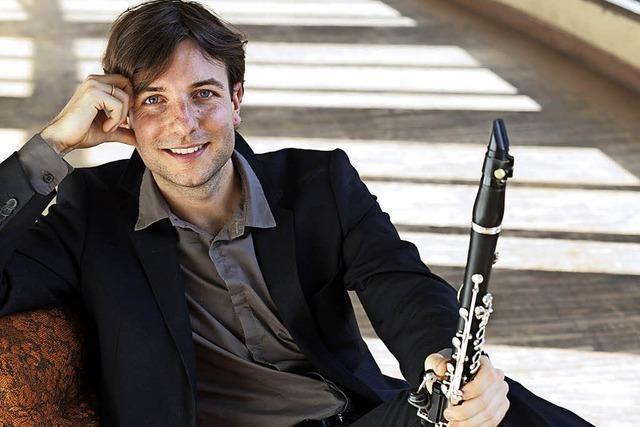 Interview mit dem Klarinettisten Kilian Herold, der bei den