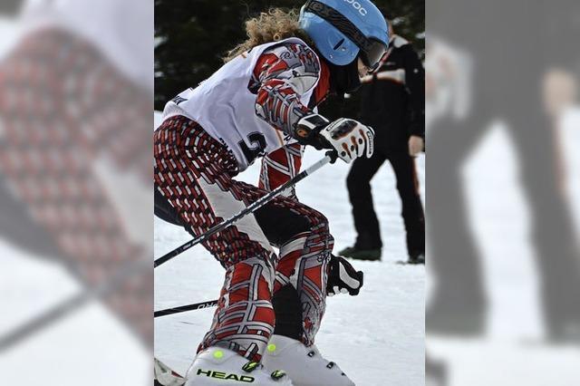 Alpiner Ski-Nachwuchs zeigt sein Talent