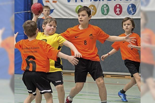 Handballnachwuchs zeigt sein Können