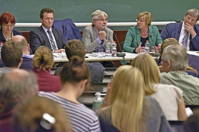 Podiumsdiskussion mit den Landtagskandidaten