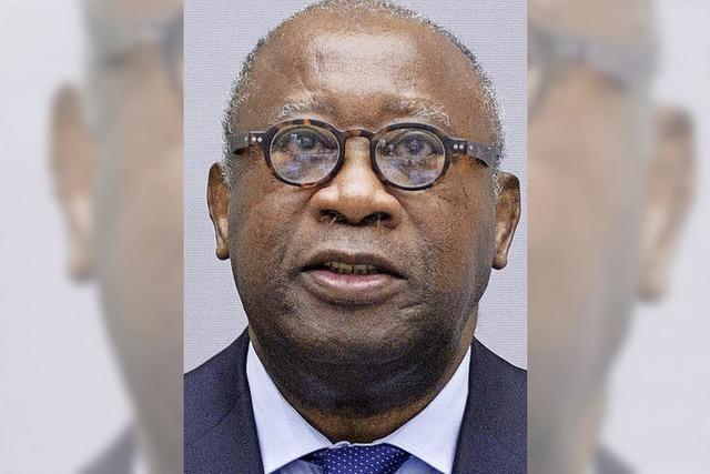 Der Ex-Präsident der Elfenbeinküste, Laurent Gbagbo, steht vor Gericht