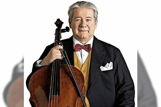 Cellist Thomas Beckmann spielt in der Klosterkirche Unserer Lieben Frau