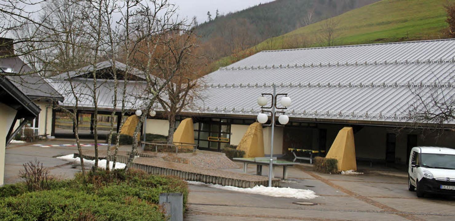 Die Turnhallensanierung an der Schule ...an und kommt in diesem zum Abschluss.     Foto: Fotos: Karin Heiss