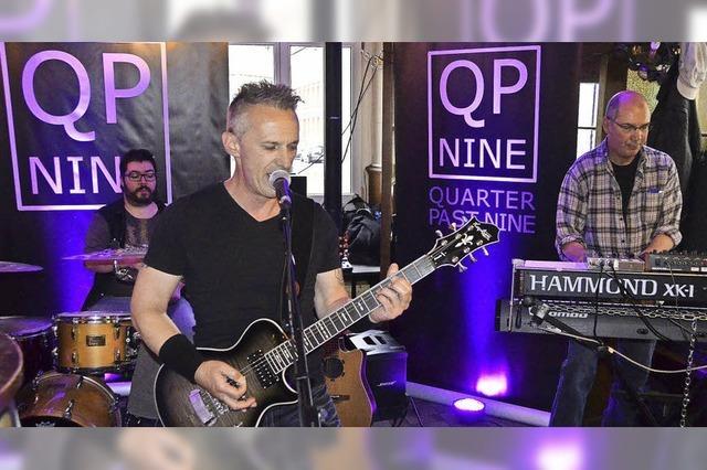 Band QP Nine gibt Konzert im Bad Säckinger Warteck
