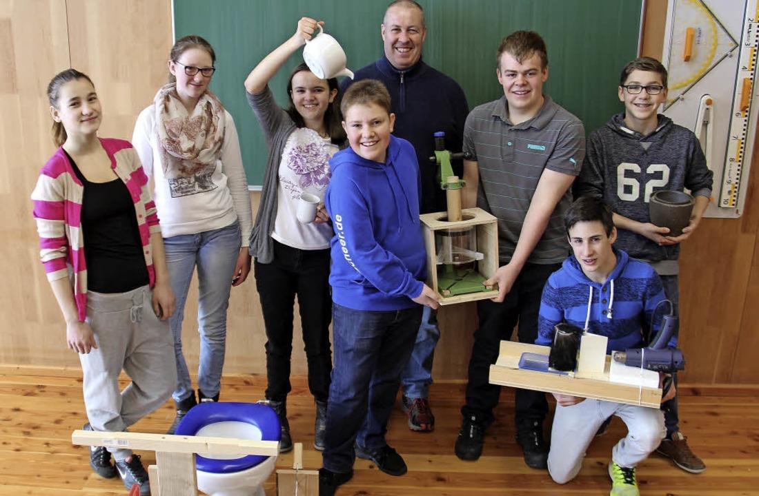 Die Werkrealschule Freiamt stellt die ...ährigen Wettbewerb von Jugend forscht.  | Foto: Gerda Oswald