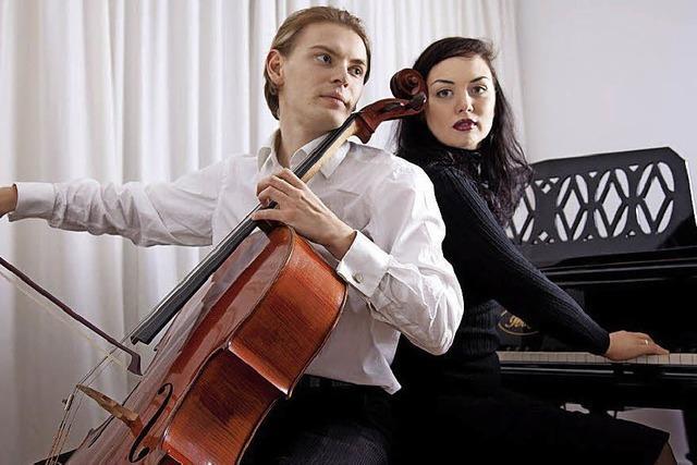 Auftakt mit Pianistin Alina Kabanova und Cellist Fjodor Elesin in St. Blasien