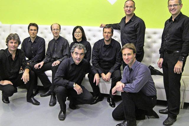 Das Ensemble Surplus gastiert im E-Werk Freiburg