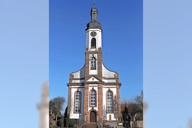 Nach drei Jahren war die Kirche fertig
