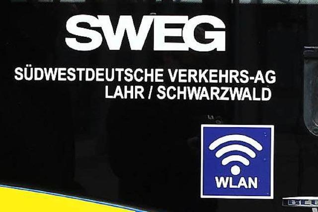 In SWEG-Bussen in Lahr und Umland kann künftig gesurft werden