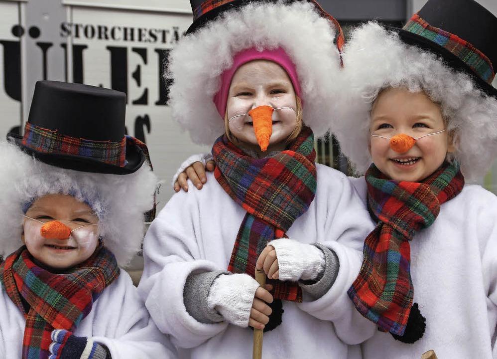 Spaß am Verkleiden haben Kinder an der...uch mehr Zeit, die Kostüme zu zeigen.   | Foto: Archivfoto: Gerd Leutenecker