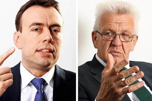 Kretschmann und Schmid zur