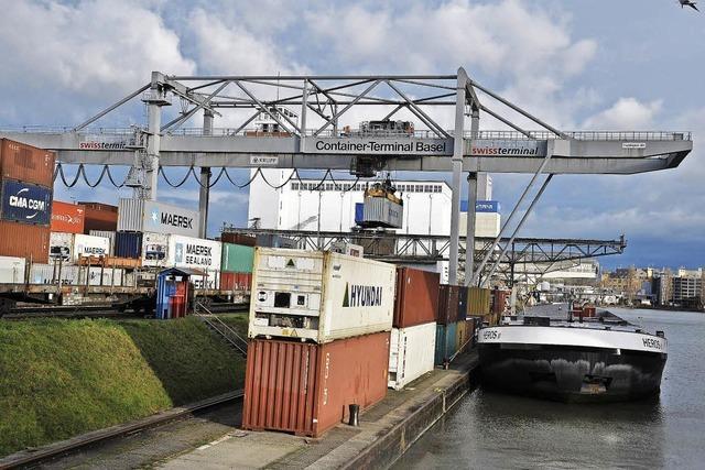 Rekordumschlag bei Containern