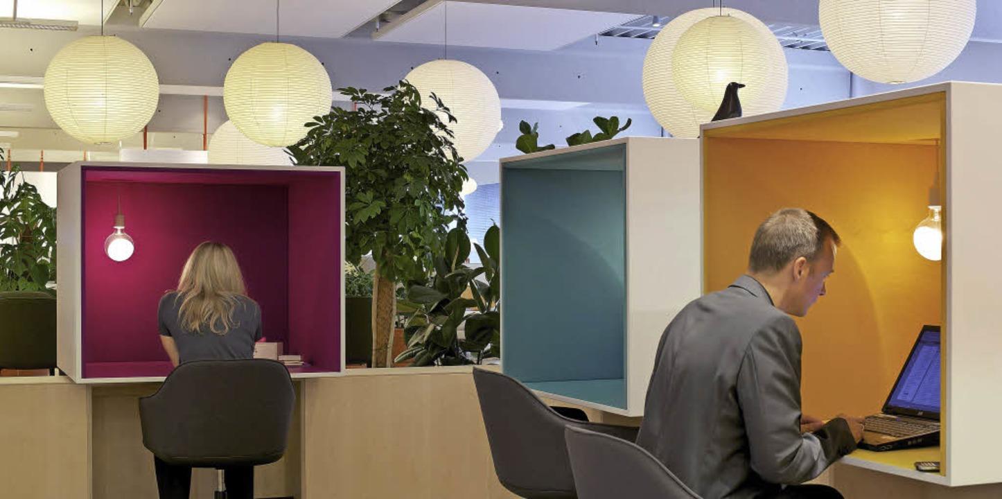 Ideen für das Büro von morgen: wohnlich, nicht nur funktional   | Foto: Ariel Huber