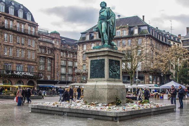 Kleber-Denkmal weiterhin Ort des Gedenkens
