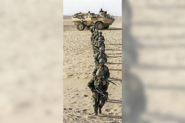 Golfkrieg: Vor 25 Jahren wurde die Fasent abgesagt