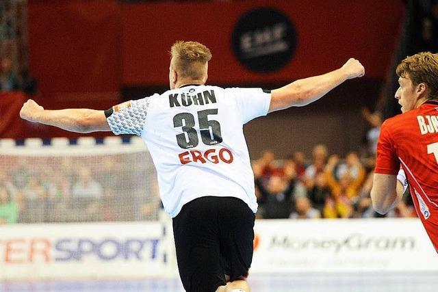 Deutsche Handballer stehen im EM-Finale – und treffen auf Spanien