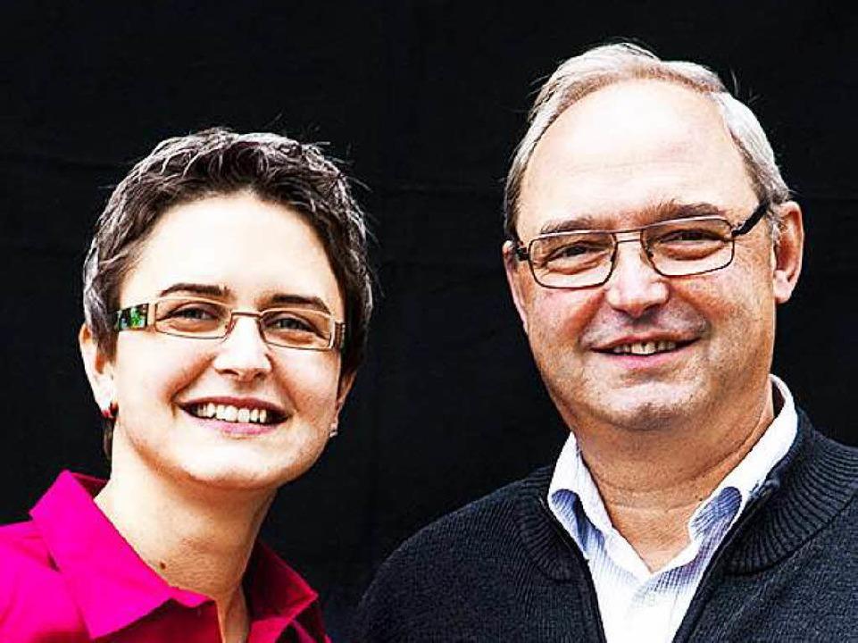 Thomas Schätzle mit seiner Tochter Franziska  | Foto: Michael Wissing BFF
