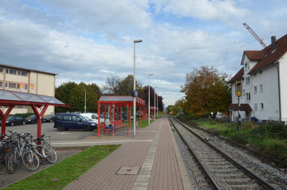 Der Bahnhof in Ihringen. Hier hat sich die Tat abgespielt. (Archivbild)  | Foto: Julia Gutknecht