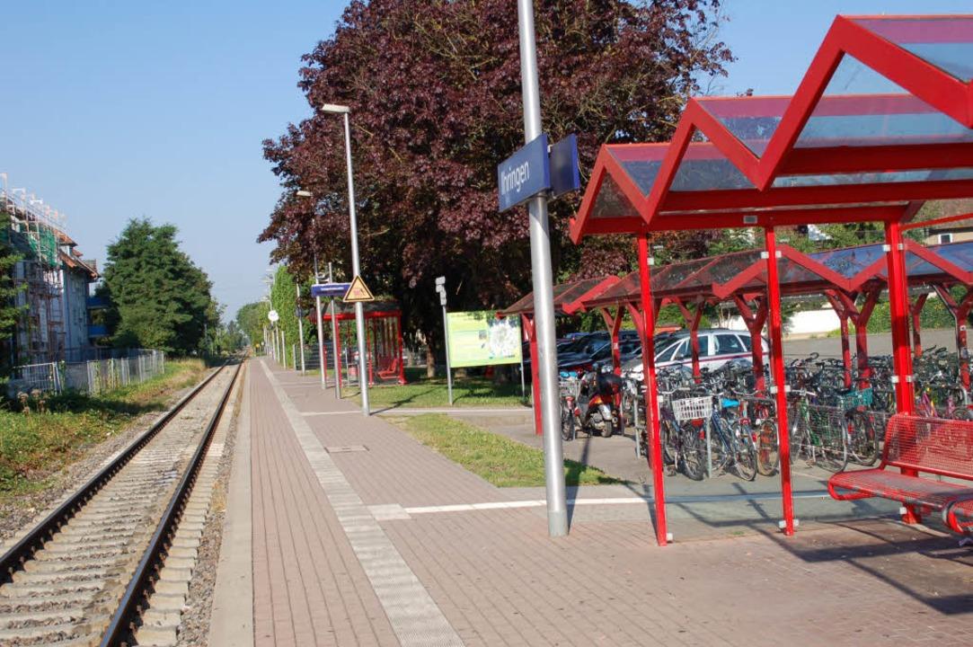 Der Bahnhof in Ihringen. Hier hat sich die Tat abgespielt. (Archivbild)  | Foto: Agnes Pohrt