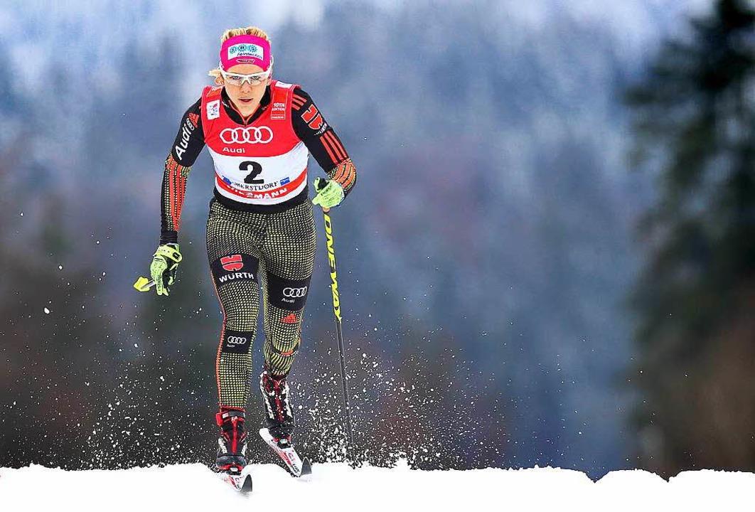 Sandra Ringwald läuft in der Form ihres Lebens.  | Foto: dpa