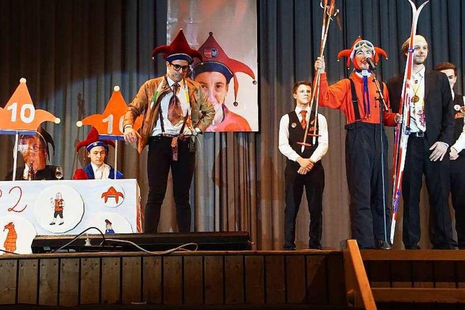 Zunftball in Endingen: Die Ojo-Wahl 2032 stand im Mittelpunkt der Lehrlingsnummer (Foto: Ilona Huege)