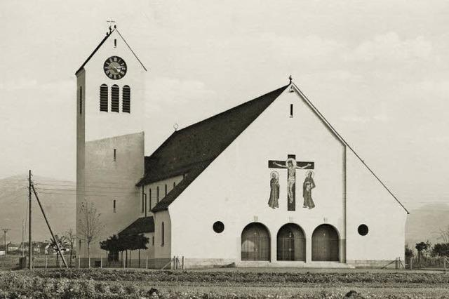 Eine Kirche für die Mooswaldsiedlung