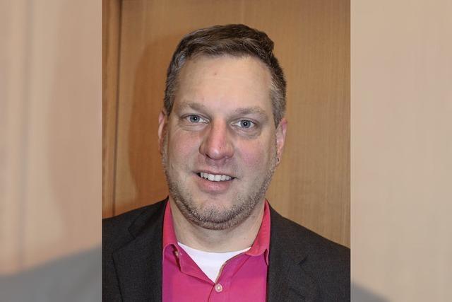 Jörg Barth ist Hauptamtsleiter