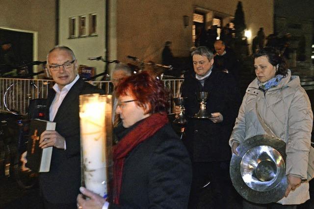 Der letzte Gottestdienst in der Lutherkirche