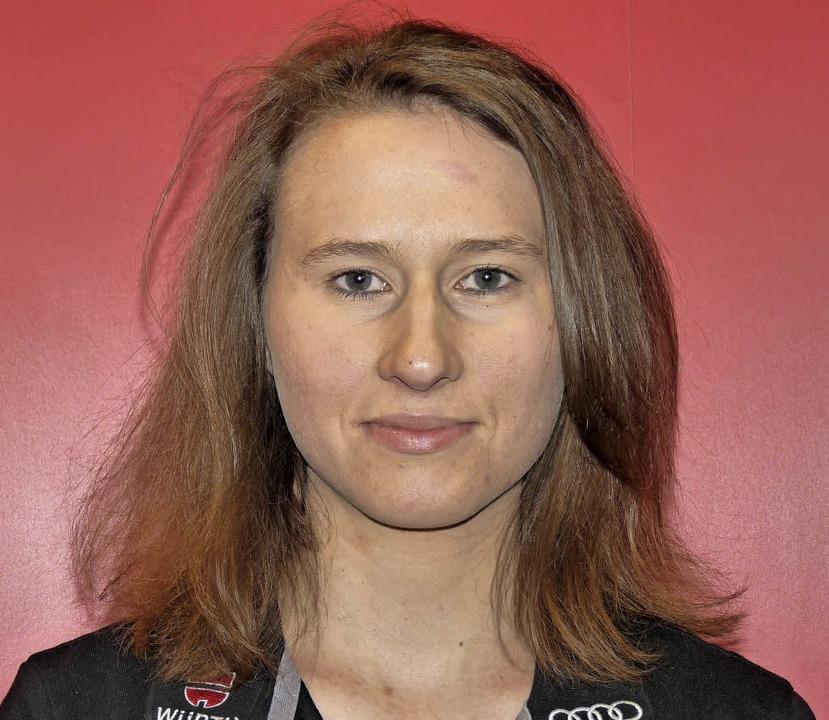 Zurück im Weltcup: Skispringerin Ramona Straub vom SC Langenordnach  | Foto: bachmann