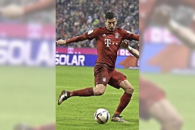 Lewandowski drückt dem Spiel den Stempel auf