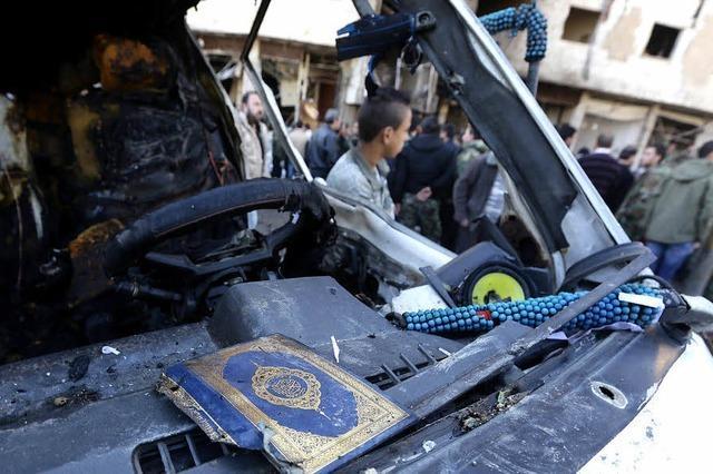 Doppel-Anschlag in Damaskus