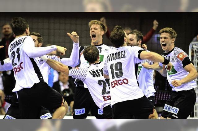 Deutsche Handballer triumphieren bei EM