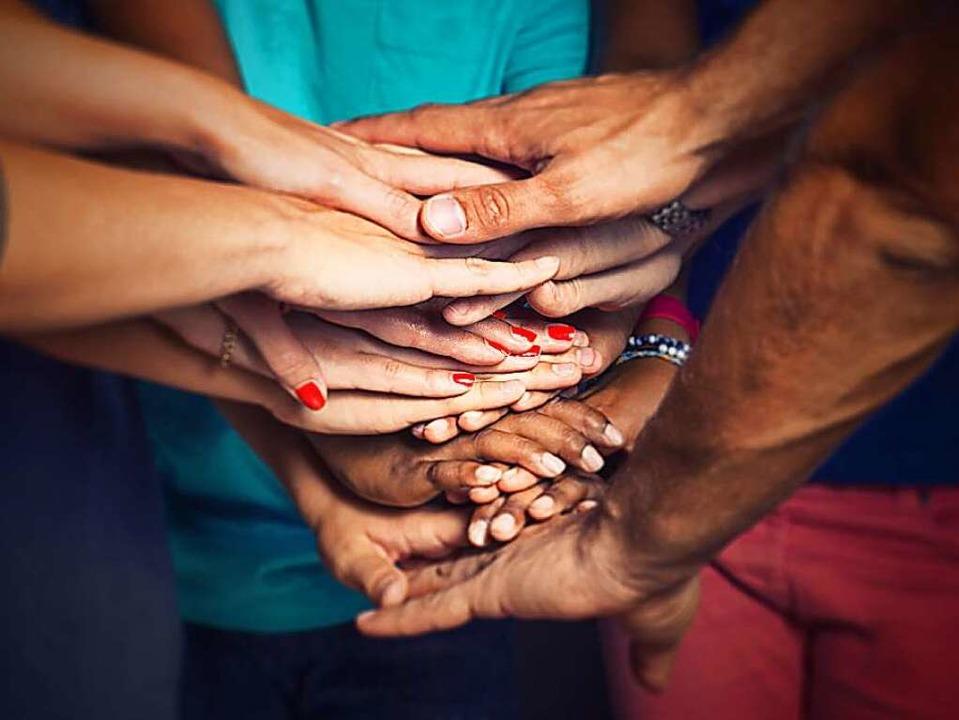 Zusammenhalt  in Vielfalt  | Foto: lassedesignen - Fotolia