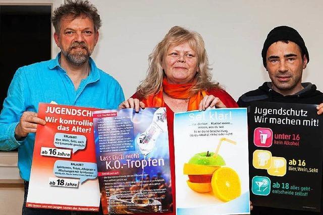 Waldkircher Jugendsozialarbeiter unterwegs zum Thema Alkohol
