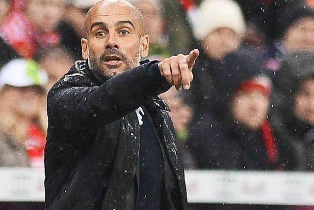 Pep Guardiola übernimmt kommende Saison Manchester City