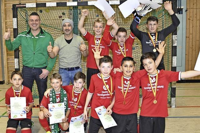 Stolze Futsal-Sieger