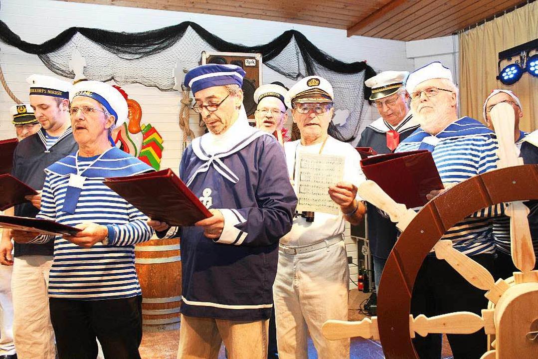 Die singenden Leichtmatrosen  | Foto: Mario Schöneberg