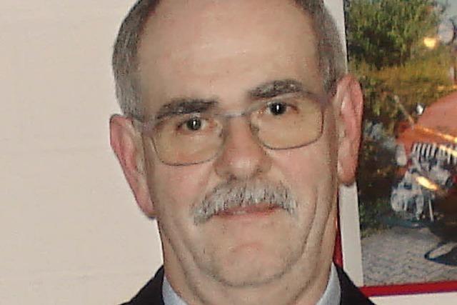Wolfgang Kaufmann seit 40 Jahren in der Wehr